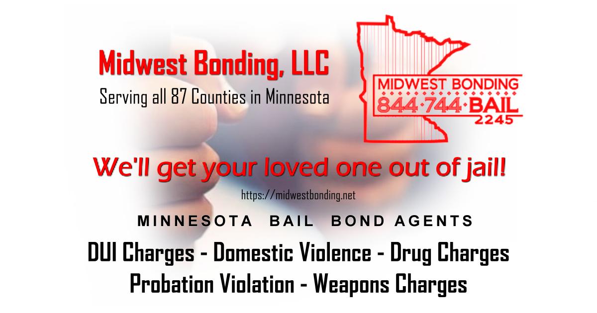 North Olmsted Dodge >> All Minnesota Bail Bonding Agents | Midwest Bonding, LLC